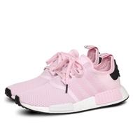 ADIDAS NMD R1 SHOES WOMEN CLEAR PINK/CLOUD WHITE/CORE BLACK