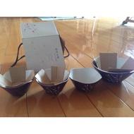 陶板屋 印花沙拉碗組