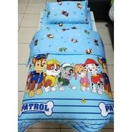 【現貨】汪汪隊、汪汪隊立大功 100%純棉~ 兒童床墊+枕頭+鋪棉兩用被 ~冬被、厚被、 被子、涼被  ~幼兒園必備!