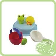 日本 Toyroyal 樂雅 Flex歡樂青蛙組 洗澡玩具 母親節推薦