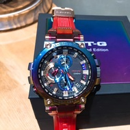 【Ready Stock】 Original CASIO G-SHOCK series volcano mine color IP series limited edition MTG-B1000VL-4A
