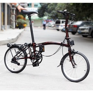 ✎✵3sixty folding bike is suitable for brompton, 3-speed, 5-speed, M-bar, S-bar, P-bar, chrome-molybdenum steel