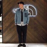 THE north face Twill Denim Shirt Jacket 紫標牛仔夾克外套