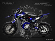 Decal Sticker WR 155 Fullbody Monster Energy WR008
