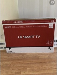 Lg smart TV 43 inches