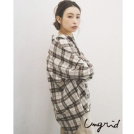 Ungrid 經典格紋前短後長襯衫(3色)