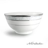 【NORITAKE】花舞春風銀邊麵碗(16cm)