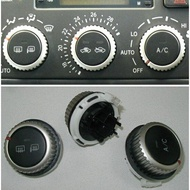 99-05 Lexus IS250 ALTEZZA JDM 正廠 冷氣面板 旋鈕 三顆 銀色款 (無現貨需預定)