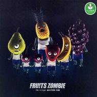 全套6款【日本正版】水果殭屍人形擺飾 扭蛋 轉蛋 水果殭屍 熊貓之穴 日本正版 - 814242