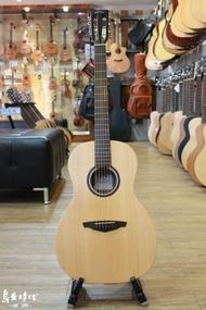 烏克時代~Veelah V1-P 面單板雲杉木民謠吉他,古典琴頭民謠吉他,超輕薄的琴身