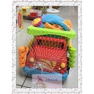 小阿姨嬰幼兒童玩具館 ☆ 兒童沙灘玩具 大砂石車沙灘組