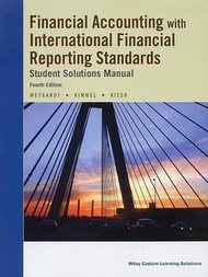 Financial Accounting IFRS, 4/e (Student Solutions Manual)(Paperback)