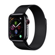 Apple-Apple Watch Series 4 GPS+Cellular (40mm Space Black Stainless Steel Case Space Black Milanese Loop) สมาร์ทวอทช์ Smart Watches & Fitness Trackers  Smart Electronics  Consumer Electronics