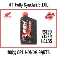 🔥Ready Stock 🔥 Boon Siew Honda BSH Fully Synthetic Engine Oil 4T RS150R DASH RS150 10W-40 API S / engine