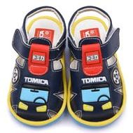 童鞋城堡-Tomica多美小汽車 小童 嗶嗶涼鞋TM3603-藍