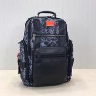 18新款tumi 232389 迷彩灰彈道尼龍男士商務休閒手提雙肩包15.6寸電腦包