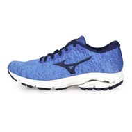 (女) MIZUNO WAVE INSPIRE 16 WAVEKNIT 慢跑鞋-美津濃 天藍深藍