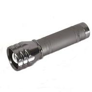 Maxtim 皇家騎士雙電源充電式手電筒(L11)550流明,鐵灰色《B27-L11》