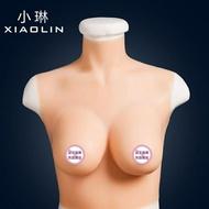 假胸 義乳cos假胸男用CD變裝偽娘用品硅膠假乳房男士變女胸墊  城市玩家