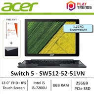 NDP Promo!!! Acer Switch 5 SW512-52-51VN 2-in-1 Laptop