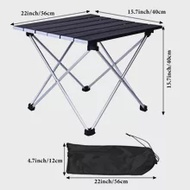Outdoor Folding Camping Table, Portable Folding Table
