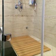 防水防滑浴室踏板(A材90x60x2.4cm)/浴室地板/陽台地板/ 戶外地板/防滑踏墊