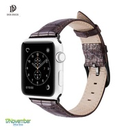 สายหนังแท้ Crocodile Leather Dux Ducis Luxury Version  Apple Watch Series 1/2/3/4 พร้อมส่ง