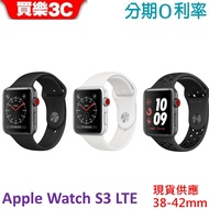【現貨】Apple Watch Series 3 GPS+LTE 【GPS+行動網路搭配運動型錶帶 38mm-42mm】