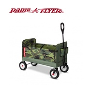 【RadioFlyer】迷彩先鋒三合一全地形折疊拖車 #3975Z型