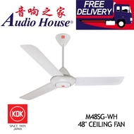 KDK M48SG-WH 48inch CEILING FAN 5-SPEED SELECTIOn