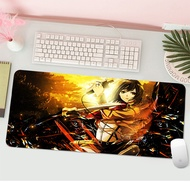 Attack On Titan Durable Rubber Mouse Mat Large game Gaming Mouse Pad HD design