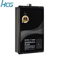 ☆政府節能補助2000 和成HCG 熱水器 數位恆溫強制排氣熱水器16L GH1655(天然瓦斯) 含原廠配送+基本安裝