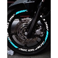 【Ready Stock】¤卐๑AIRBLADE150 MAGS REFLECTIVE MAGS DECALS
