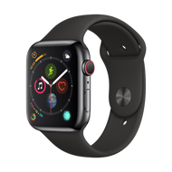 Apple Watch Series 4 smart watch GPS  cellular network 44 mm stainless steel case Milanese strap MTX12CH  A