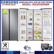 SAMSUNG RS62R5004M9 647L SIDE BY SIDE REFRIGERATOR, 2 TICKS, FREE DELIVERY, FREE DISPOSAL