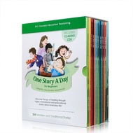 One Story A Day for Beginners Original English Picture Book Kids Story Books 12 Books