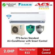 [ WIFI ] DAIKIN 2HP 2.0HP FTV Series Standard Non-Inverter Air Conditioner R32 Gas FTV50P Aircond Penghawa Dingin 冷气机