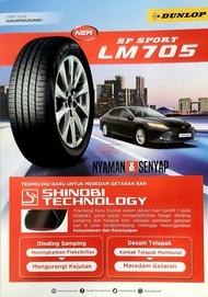 Ban Dunlop 205/70 R15 LM705 Baru Asli Murah