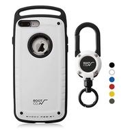 日本 ROOT CO.│iPhone 7 / 8 Plus Gravity Pro 單掛勾+360度旋轉登山扣 - 共六色