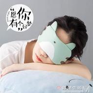 學生熱敷眼睛遮光罩冰可愛個性睡覺薄眼罩冰袋眼敷護眼緩解疲勞