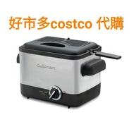 《熊寶雜貨》Cuisinart 不鏽鋼輕巧型溫控油炸鍋 (CDF-100TW) costco油炸鍋