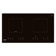 Tecno TG 283HB SCHOTT CERAN GLASS Induction-Ceramic Hybrid Hob Schott Ceran Glass (Black)