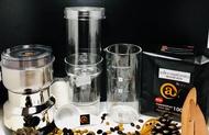 Cold Brew ชุดทำกาแฟสกัดเย็น กระดาษกรอง ช้อนตวงกาแฟ เครื่องบดกาแฟไฟฟ้า เมล็ดกาแฟคั่วกลาง 500g.
