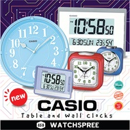 *APPLY SHOP COUPON* CASIO TABLE AND WALL CLOCKS! Latest Alarm Clocks Models. Free Shipping!