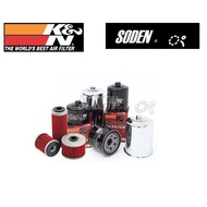 SODEN Go ~ K&N 機油濾芯 KN-163/KN163 BMW K1200LT/R850R/R1200CL/R1150R/R1150RT/R1150RS