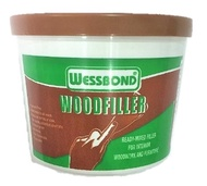 WESSBOND Wood Filler Putty-Fast-Drying! Colour Options available (Teak/Natural)
