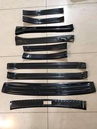 日產 NISSAN SENTRA 車門戶定飾條 不鏽鋼 黑鈦