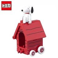 【日本正版】TOMICA 騎乘系列 R01 史努比 Snoopy x House Car 多美小汽車 玩具車 - 887270