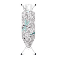 Brabantia Size C Ironing Board 124x45cm With Solid Steam Iron Rest Ivory- Dragonfly