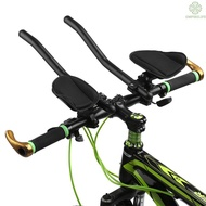 [Ready stock]Bike Rest Handlebar Cycling Aero Bar Bicycle Relaxation Handle Bar Triathlon MTB Road Bike Arm Rest Bar Bik